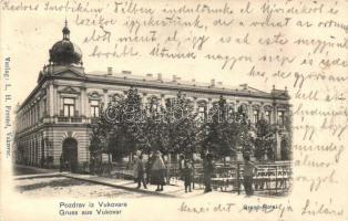 Vukovár, Nagyszálló / Grand Hotel. Verlag L. H. Freund (EK)