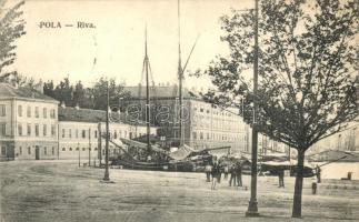 Pola, Riva