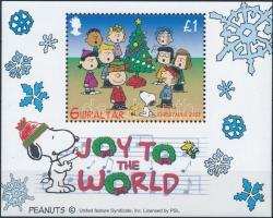 2003 Snoopy karácsonya blokk Mi 58