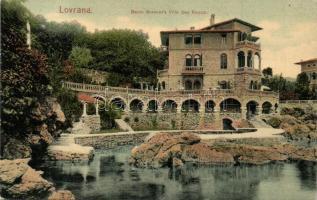 Lovran, Lovrana; Baron Brenners Villa San Rocco