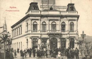Nyitra, Nitra; Hungária szálloda, Fürst Sz. kiadása / hotel
