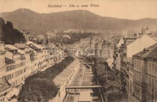 Karlovy Vary, Karlsbad; Alte und Neue Wise / streets