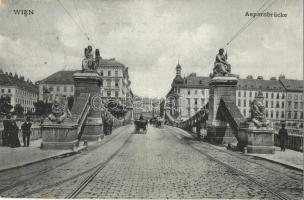 Vienna, Wien; Aspernbrücke / bridge