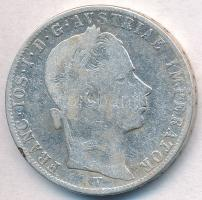 Ausztria 1863V 1Fl Ag Ferenc József T:2-,3 kis patina Austria 1863V 1 Florin Ag Franz Joseph C:VF,F