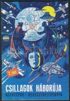 cca 1980 A Csillagok háborúja 2. rész. Képregény és keresztrejtvények / Hungarian Star Wars comics with crossword puzzles