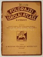 cca 1930 Földrajzi iskolai atlasz