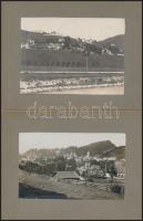 cca 1930 Berchtesgaden 2 db német városkép / German vintage photos 10x7 cm