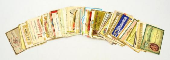 cca 1960-1970 200 db boroscímke / Wine labels