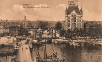 Rotterdam, Vier Leeuwenburg en Witte Huis