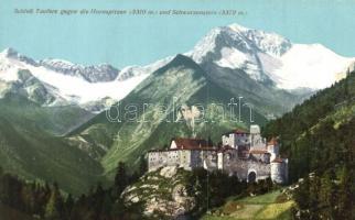 16 db RÉGI külföldi városképes képeslap, várak, belsők, főleg Ausztria, több használatlan / 16 pre-1945 European townview postcards, castles, interiors, mostly Austria, many unused