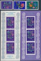 1974 Nemzetközi bélyegkiállítás SOCPHILEX sor Mi 2309-2311 + blokk 57-58