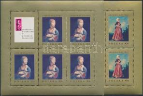 1967 Festmények kisív sor Mi 1808-1815