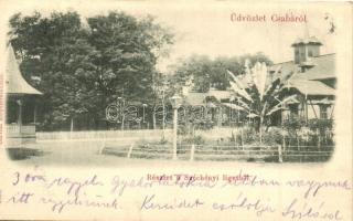 Békéscsaba, Csaba; Széchenyi liget, pavilon