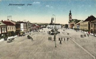 Máramarossziget, Sighetu Marmatiei; Főtér / main square