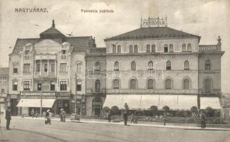 Nagyvárad, Oradea; Pannónia szálloda, Neumann M. üzlete / hotel, shop (EK)