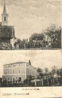 Badacsonytördemic, Tördemic; Római katolikus templom, malom, Anitta kiadása (fa)