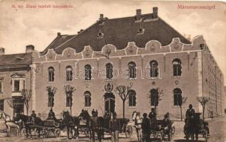 Máramarossziget, Sighetu Marmatiei; Áll. felsőbb leányiskola, Kaufmann Ábrahám és fiai kiadása / girls school (EK)