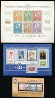 1971-2015 43 db emlékív (40.900)