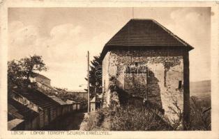 Lőcse, Levoca; Lőpor torony szurok erkéllyel / tower