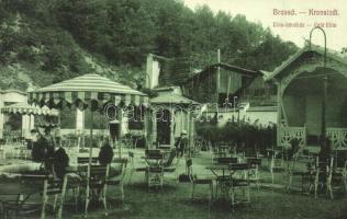 Brassó, Kronstadt, Brasov; Elite kávéház, Brassói Lapok kiadása / Café Elite