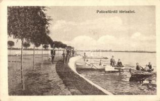 Palicsfürdő, Palic; tó / lake