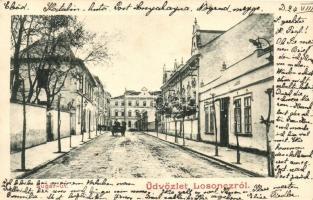 Losonc, Lucenec; Sugár út / street