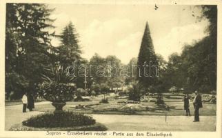 Sopron, Erzsébetkerti részlet, Lobenwein Harald kiadása