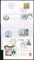 Kb. 70 db alkalmi bélyegzés borítékokon és lapokon
