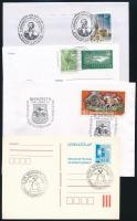 Kb. 70 db alkalmi bélyegzés borítékokon, lapokon