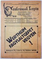 1938 Czukrászok Lapja, XXVII. évf. 8. szám, Szerk.: Steibner Gyula, Steiner László, kisebb folttal a borítón, egyébként jó állapotban.