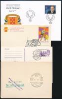 Kb. 61 db vegyes külföldi alkalmi bélyegzés borítékokon, lapokon