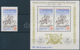 1986 Postai világnap Mi 3051 + blokk 101