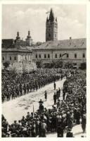 1940 Nagybánya, Baia Mare; bevonulás / entry of the Hungarian troops, 1940 Nagybánya visszatért So. Stpl