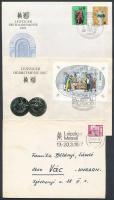 1947-1987 40 db Lipcsei vásár bélyegzés küldeményeken
