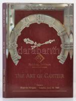 1988 Habsburg, Feldman: The art of Cartier. Keménykötéses aukciós katalógus
