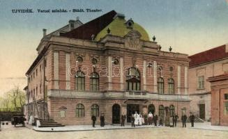 Újvidék, Novi Sad; Városi színház / theatre