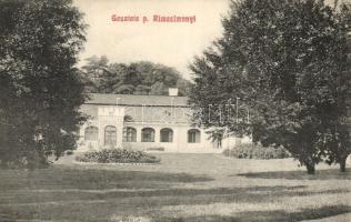 Gesztete, Hostice; Putnoky kastély / castle (Rb)