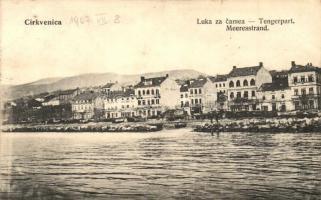 Crikvenica, Tengerpart / Luka za camea / Meeresstrand / beach
