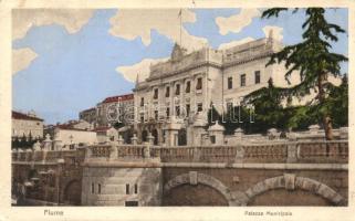 Fiume, Palazzo Municipale / Városháza / town hall (EK)