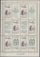 1959 65 éves a lengyel bélyeggyűjtő mozgalom kisív Mi 1101 I