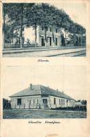 Előszállás, Vasútállomás, községháza (EK)