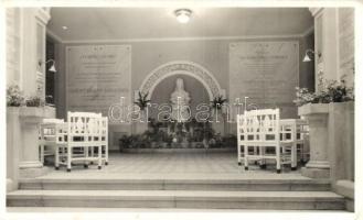 Budakeszi, Erzsébet királyné szanatórium, előcsarnok, belső (EK)