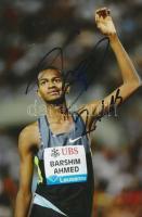 Mutaz Essa Barshim 2016-os olimpiai ezüstérmes atléta saját kézzel aláírt fotója / Autograph signed photo of Olympic Games contestant 16x10 cm