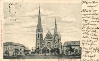 Budapest X. Kőbánya, Református templom, Divald Károly 356. sz.