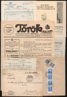 cca 1920-1940 Vegyes papírrégiség tétel.
