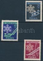 1956 Téli sportok sor Mi 956-958