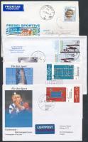 Kb. 70 db légi és elsőbbségi levél