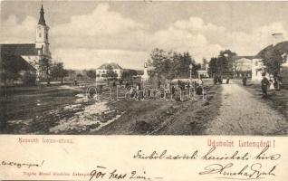 Letenye, Kossuth Lajos utca, Hősi emlék (EB)