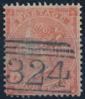 1862 Mi 19 II (Mi EUR 50,-)