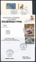 30 db Autó-és motorsport motívum küldemény